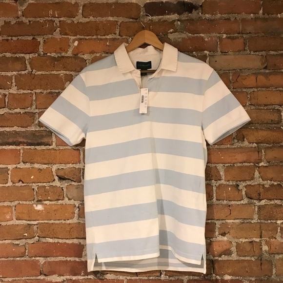 ba7db467 J. Crew Shirts | Nwt J Crew Mens Striped Short Sleeve Polo Shirt ...